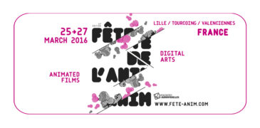 Fête de l'anim' 2016<br>March 2016 // Lille (FR)
