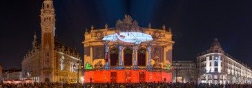 Fête de l'anim' 2016: Video Mapping Workshop and Showcase event<br>March 2016 // Lille (FR)