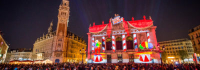 Fête de l'anim' 2017: Video Mapping Workshop and Showcase event <br>March 2017 // Lille (FR)