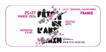Fête de l'anim' 2016<br>March 2016 // Lille (FR)