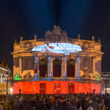 Fête de l'anim' 2016: Video Mapping Workshop and Showcase eventMarch 2016 // Lille (FR)