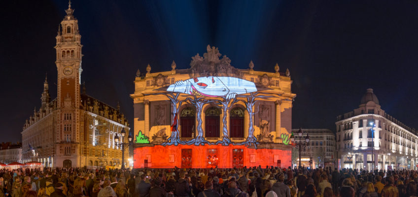Fête de l&#8217;anim&#8217; 2016: Video Mapping Workshop and Showcase event<br>March 2016 // Lille (FR)