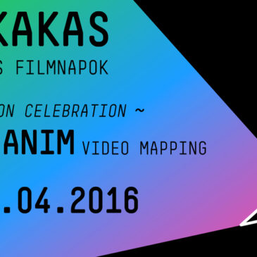 Kiskakas Festival 2016: Video Mapping WorkshopApril 2016 // Budapest (HU)