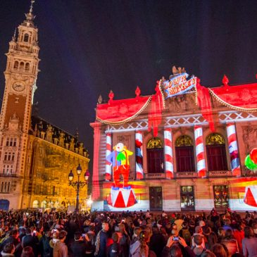 Fête de l'anim' 2017: Video Mapping Workshop and Showcase event March 2017 // Lille (FR)