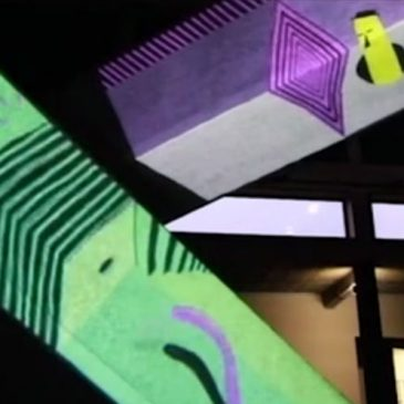 Video Mapping Workshop and Showcase event  January 2018 // Kortrijk (BE)