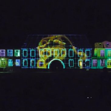 Viborg Animations Festival 2016: Video Mapping Showcase event September 2016 // Viborg (DA)