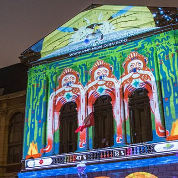 Video Mapping Festival #1 : Workshop and Showcase Event  March 2018 // Lille (FR)